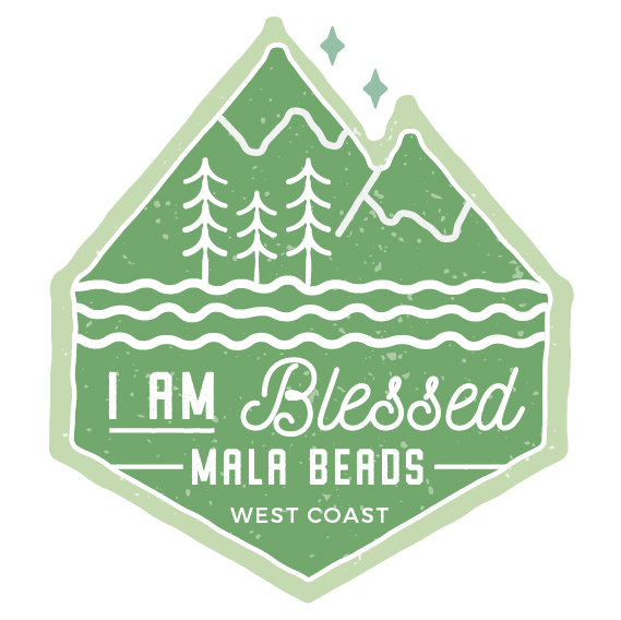 I Am Blessed Mala Beads